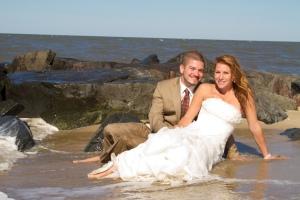 Beach Wedding Photography in Delaware