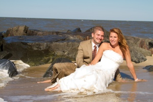 Beach Wedding Photography in Delaware