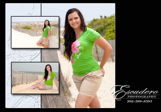 Delaware beach portraits