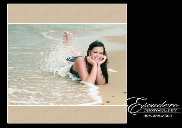 Delaware Senior Portrait beach photographers