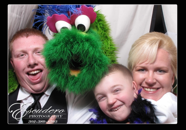 White Clay Country Club Photo Booth Rental for Wedding Reception