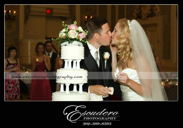Hotel Dupont in Wilmington Delaware wedding photographer