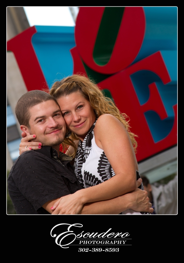 Love Park Professional Engagement Portrait Photographers
