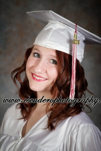 Cap and Gown Senior Portrait
