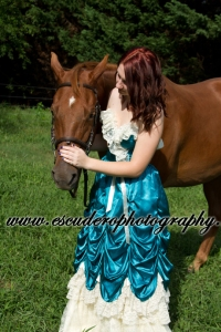 Sarah and her horse