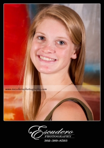 Without Makeup Senior Portrait