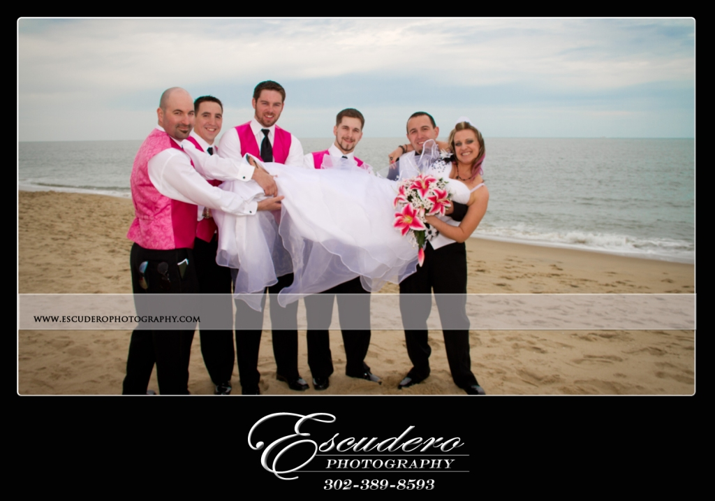 Delaware Beach Wedding Picture
