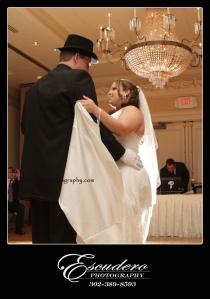 Christiana Hilton Wedding Photograph