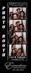 photo booth at The Running Deer