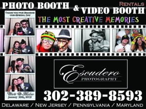 Delaware Maryland Photo booth at the Chesapeake Inn