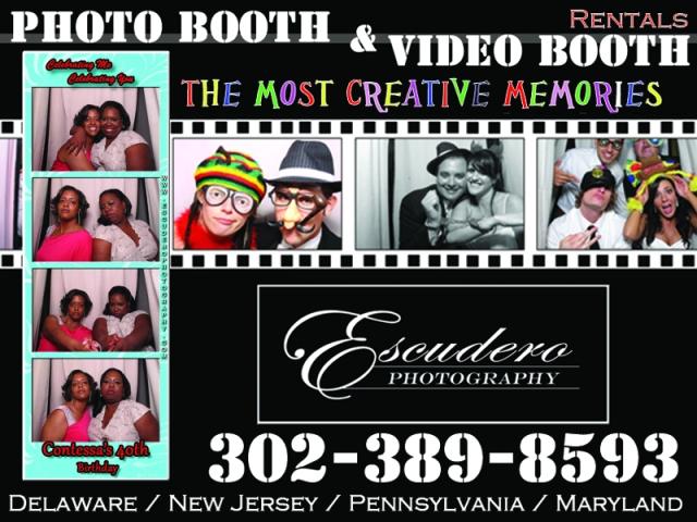 escudero photography rental booth