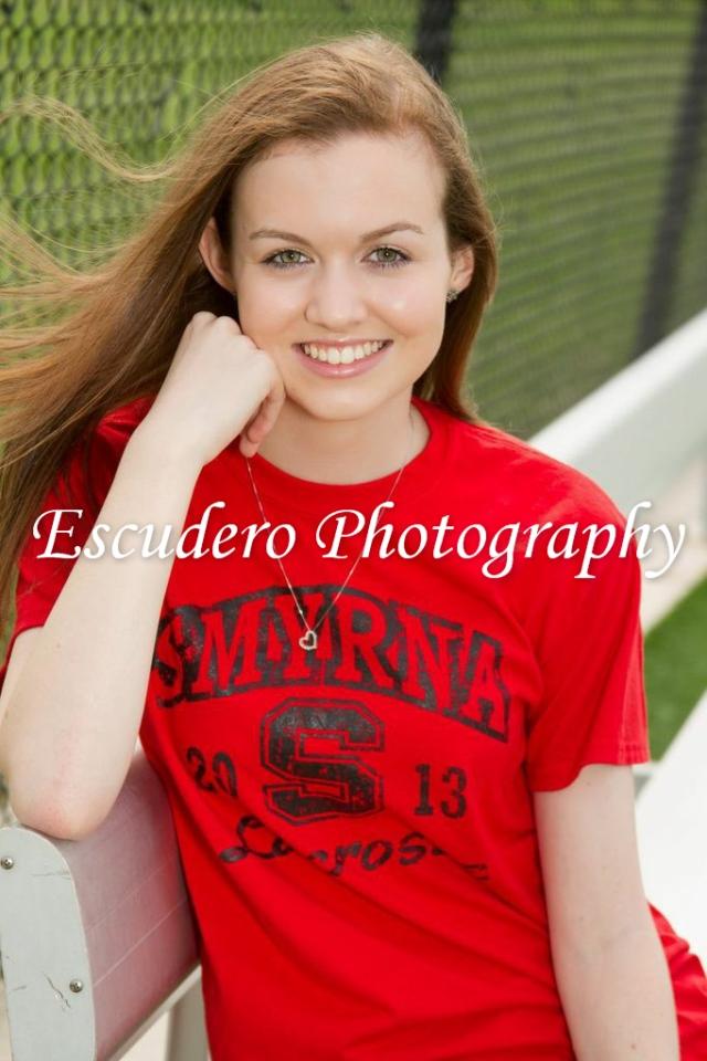 Delaware Smyrna Lacrosse Senior Photographer