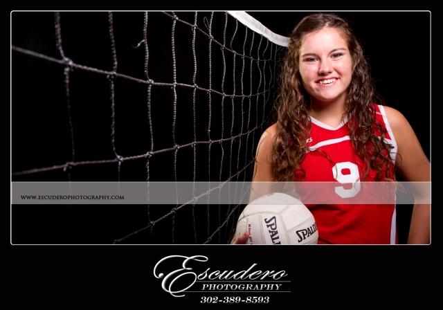 Smyrna High School DE volley