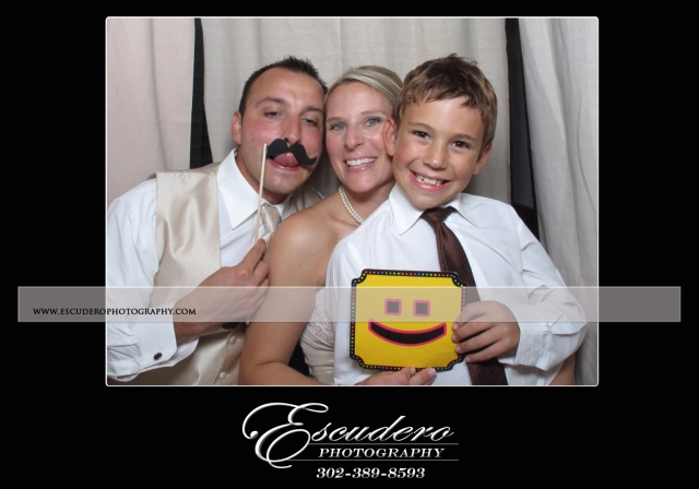 Delaware wedding photo booth