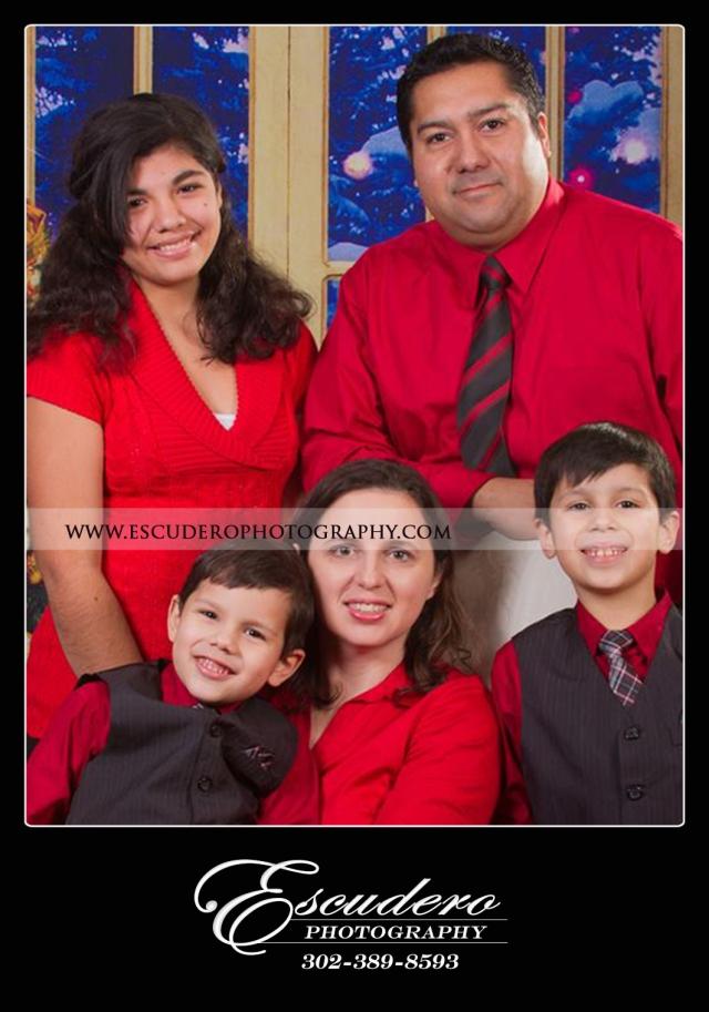 Escudero Photography christmas portrait
