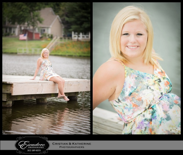 Delaware High School Senior Portrait